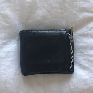 All saints leather wallet